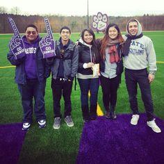 Grand opening for the UWB sports field! #godawgs #huskies #uwb #purpleandgold @monicadangg_ PHOTO CREDS: @Stephie Pena