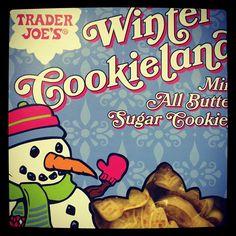 Winter Cookieland cookies at #traderjoes.