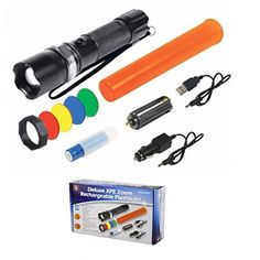 3 Watt 4 Lens Cree LED Recharageable Light FL3654RC *** Learn more by visiting the image link. #LightsandLanterns