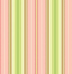 pinky and green in classic stripes, one of my favorite colour combinations and sooo fresh!