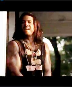 from a Baytown Disco short..for the movie he was suppose to work on but couldnt because he was working on Leverage dont know who to credit for this screen cap.from Leverage. This is #ChristianKane actor, singer, songwriter, stuntman, cook!