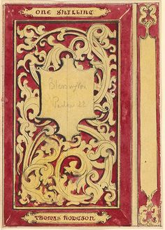 Alfred Crowquill | Cover Design for The Confessions of an Elderly Lady and Gentleman | Drawings Online | The Morgan Library & Museum