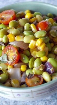 Weight Watchers Friendly Edamame Salad Recipe - Ready in 20 Minutes - 7 WW Smart Points