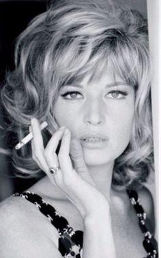 Monica Vitti par Gianni Praturlon, 1973.