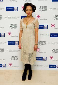 Ruth Negga at the British National Ballet