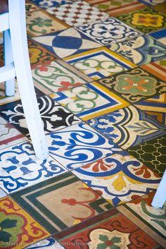 Azulejos floor