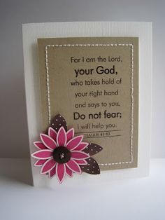 isaiah 41:13  I wish there were more scripture stamps available