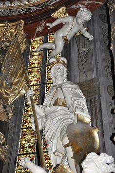 Świdnica, katedra, św. Wacław