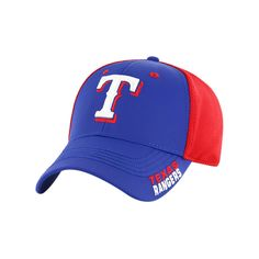 8af739d6788 Texas Rangers New Era Front Flect Logo Snap 9FIFTY Adjustable Hat ...