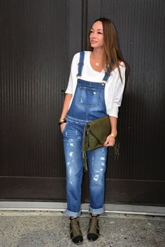 How to Wear Overalls | Style by Kim Xo
