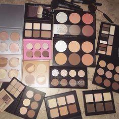 BS-MALL New 14 Pcs Makeup Brushes Premium Synthetic Kabuki Makeup Brush Set Cosmetics Foundation Blending Blush Eyeliner Face Powder Brush Makeup Brush Kit(golden Pink) - Cute Makeup Guide Makeup Needs, Love Makeup, Makeup Inspo, Makeup Inspiration, Beauty Makeup, Makeup Stand, Too Much Makeup, Makeup Is Life, Drugstore Makeup