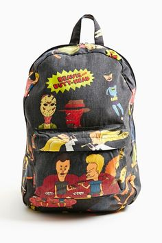 Beavis & Butthead Backpack in What's New at Nasty Gal