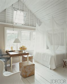 loving the soft light and breeze that will come through the windows #bedroom #NashvilleRealEstate #NealClaytonRealtors #decorating #design #interior www.nealclayton.com