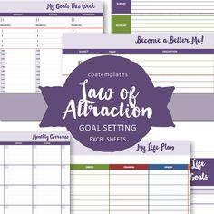 goal setting spreadsheets