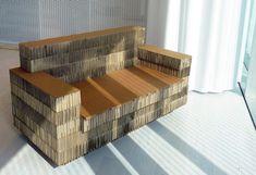 cool, sturdy cardboard furniture to diy or buy