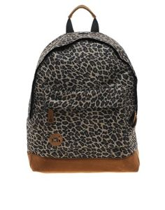 Image 1 of Mi Pac Leopard Print Backpack