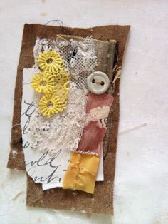 Thread and Thrift: Textile Collage