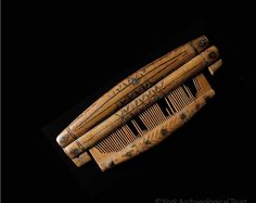 Viking age comb made of bone/antler found in York (in the Viking age called Jorvik), UK. These objects were certainly prized possessions, as protective cases specially made for them have also been found.