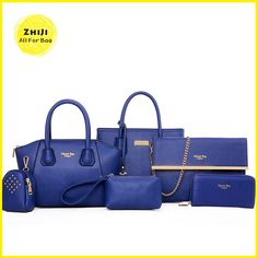 53d42b182b0be 2016 Women bags set Cross Body Bag For Teenager Girls Shoulder Bags For Womens  Pu Leather Casual Women′s Kit Bags