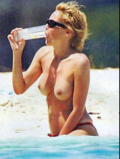 Sharon stone naked at beach simply magnificent