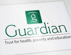"Logo for ""Guardian"" Portfolio Logo, Working On Myself, New Work, Logo Design, Behance, Education, Logos, Gallery, Check"