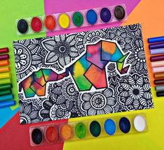 Dibujos Zentangle Art, Cube, Toys, Mandalas, Activity Toys, Clearance Toys, Gaming, Games, Toy