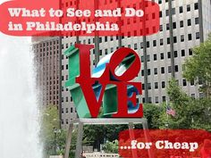 Tips for the budget traveler coming to Philly. What to see and do in Philadelphia for cheap, and free!