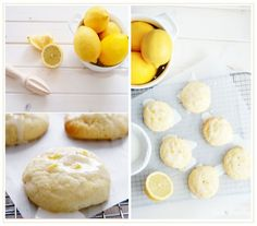 Eat:: Glazed Lemondrop cookies