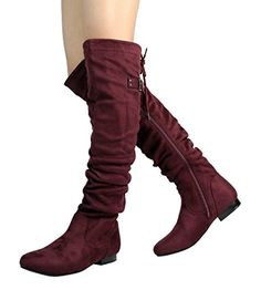 8932b20e2e70 DREAM PAIRS Women s Fashion Casual Over The Knee Pull On Slouchy Boots    Many thanks for seeing our photograph.