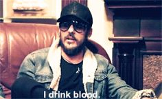 """I drink blood."" - Shannon Leto. I would so let him drink my blood if he wanted to <3"