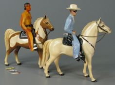 Lone Ranger and Tonto play set ca. 1965 My son had Lone Ranger, his cousin: Tonto maybe Gi Joe, The Lone Ranger, Toys Online, Toy Soldiers, Antique Toys, Old Toys, The Good Old Days, Best Memories, Vintage Love
