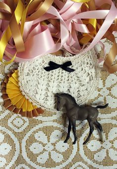Cute little Pony Party by Rachel Denbow! 1st Birthday Parties, Girl Birthday, Crochet Baby Bibs, Doilies Crafts, Do It Yourself Inspiration, Smile And Wave, Little Pony Party, Kid Styles, Tejidos