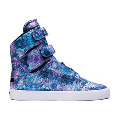 SUPRA WOMENS SOCIETY II   FLORAL/BLACK - WHITE   Official SUPRA Footwear Site Trendy Shoes, Cute Shoes, Casual Shoes, Balenciaga Shoes, Valentino Shoes, Fall Shoes, Spring Shoes, Winter Shoes, Summer Shoes