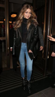 Gigi Hadid Just Won LFW by Wearing These Adorable Combat Boots