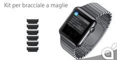 Apple aggiunge sullo store il kit per il bracciale a maglie nero siderale per Apple Watch