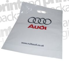 Audi | Patch Handle Carrier Bags