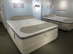 At Kingsdown, among three handsome new collections, was Sleep Haven, a cool and lovely exterior and inside--cooling, cut-and-contoured foams and gel.