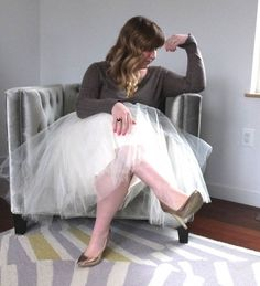 Valentine's Day Style Tips; tulle skirt