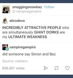 No idea who they are though<<<<<<they're from a great book called Carry On which you should totally read Simon Snow, Carry On Book, Eleanor And Park, Love Simon, You Are The Sun, Rainbow Rowell, Book Fandoms, Girl Quotes, Book Series