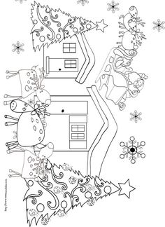 154 meilleures images du tableau broderie noel christmas embroidery christmas embroidery - Dessin de rennes ...