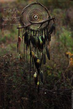 """Купить Ловец снов """"Адэхи — живущий в дремучих лесах"""" - ловец снов, ловец сновидений"""