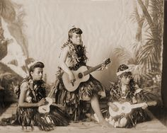 "'Ukulele – The Music of the Islands The 'ukulele is a Hawai'ian interpretation of the machete, a small guitar-like instrument with four strings that's related to the cavaquinho, braguinha and the rajao, brought to the Islands by Portuguese immigrants around 1879. According to Queen Liliʻuokalani, the last Hawai'ian monarch, the name means ""the gift that came here,"" from the Hawai'ian words uku (gift or reward) and lele (to come)... Click on photo to continue story. #TBT #throwbackthursday"
