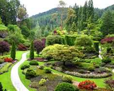 Butchart Gardens, Victoria, Canada.  Gorgeous gardens, especially when the roses are in bloom.