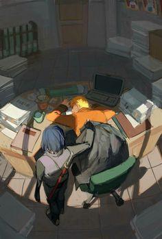 Sasuke Uchiha and Naruto Uzumaki #Sasuke #Naruto