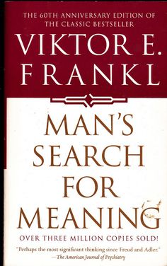 #LIFE: Man's search for meaning - Dr. Viktor Frankl Nazi Conentration survivor
