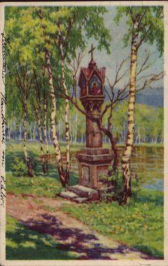 Wayside Shrines: Wayside Shrines in 19th Century Holy Cards