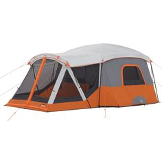 11 Person Cabin Tent with Screen Room 17' x 12'