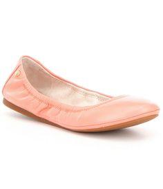 Antonio Melani Prima Leather Slip-On Round Toe Flats