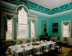 Mount Vernon Interior   visit to Mount Vernon: The builder of a nation also designed one of ...