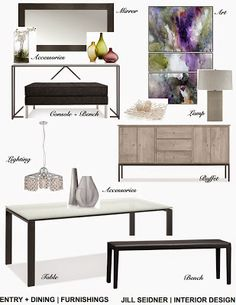 JILL SEIDNER | INTERIOR DESIGN: Concept Boards. Interior Design ServicesConcept  BoardDesign ... Part 83